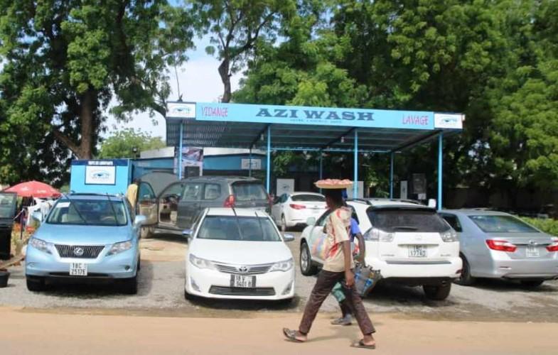 Société : Azi Wash, une nouvelle laverie auto  moderne à N'Djamena