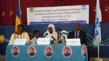 Tchad : l'UNHCR appuie le recyclage des formateurs des CFTP