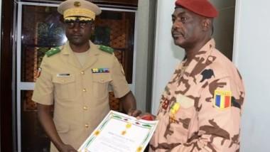 G5 Sahel : le Tchadien Oumar Bikimo élevé au rang d'Officier de l'ordre national du Mali