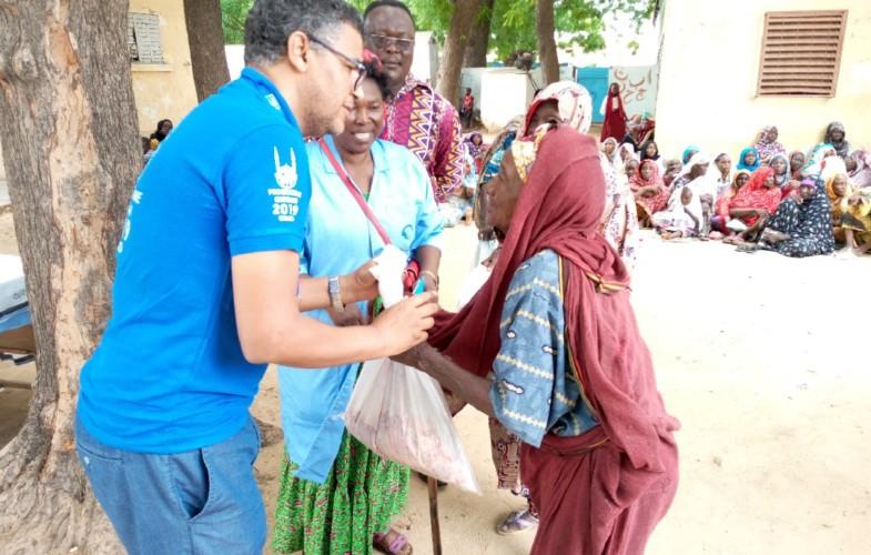 Aid el Moubarak : Islamic relief Chad assiste les personnes démunies