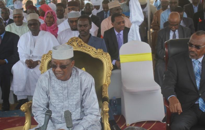Tchad : « En matière de sport les Tchadiens sont un peu déçus », déclare Idriss Déby Itno
