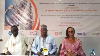 Technologie : le Tchad abritera la 8e édition du forum sur la gouvernance de l'Internet en Afrique
