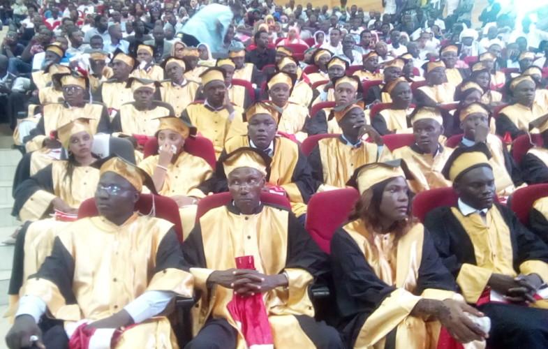 Tchad : 55 étudiants de la Faculté des Sciences de la Santé humaine  ont reçu leurs parchemins