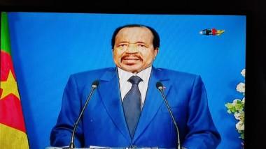 Cameroun : le président  Paul Biya annonce un grand dialogue national