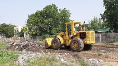 Tchad : la mairie procède à l'enlèvement des ordures autour de l'ENS