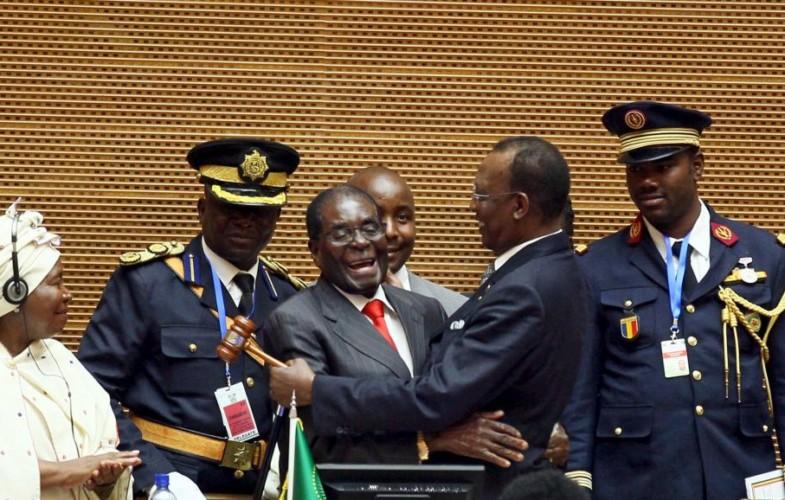 Robert Mugabe, l'homme que Déby a succédé à la présidence de l'Union africaine