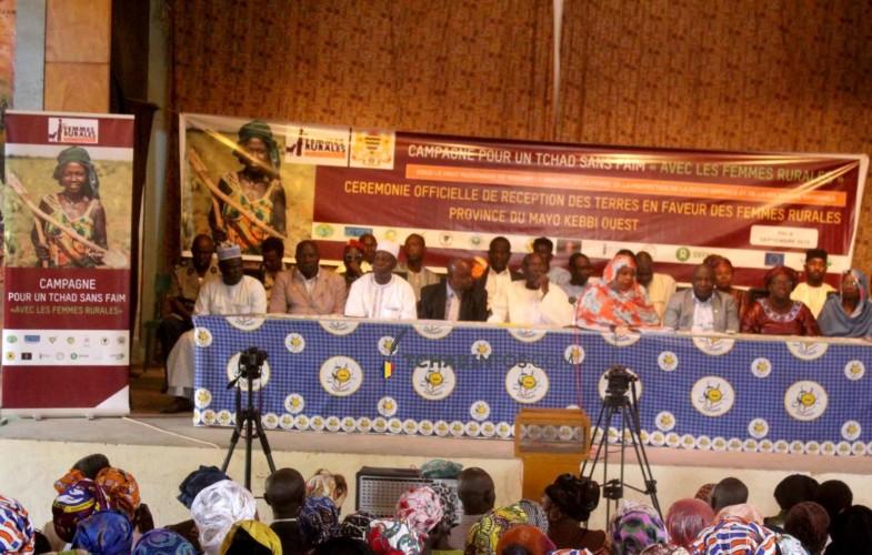 Tchad: 100 hectares de terre cultivables offerts aux femmes rurales du Mayo Kebbi Ouest