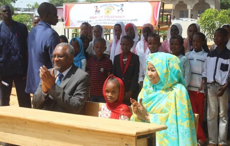 Tchad : la Fondation Grand Cœur offre 23 000 tables-bancs pour les 23 provinces