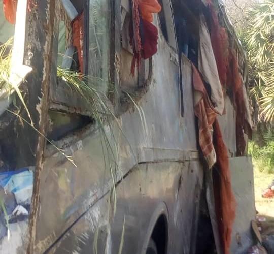 Accident à 20 Km de Bongor : deux morts et plusieurs blessés