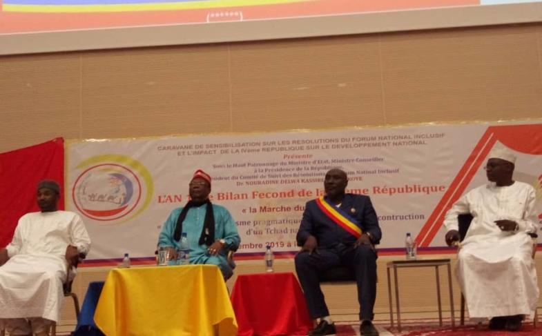 Société : la Coalition fils du Tchad dresse le bilan de l'an 1 de la IVe République