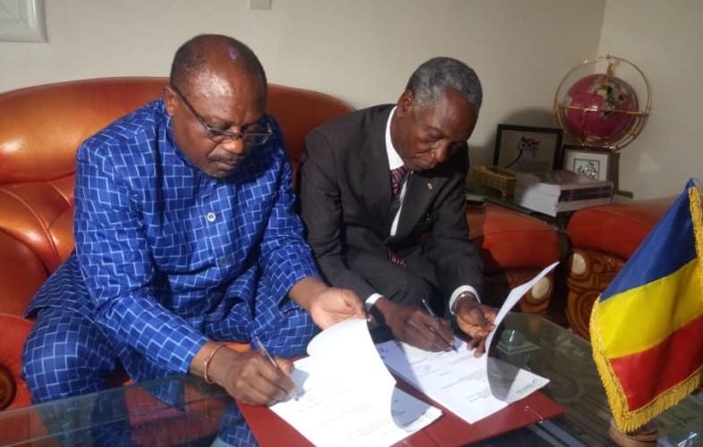 Tchad : le secrétaire général du CAMES reçu en audience par le ministre de l'Enseignement supérieur