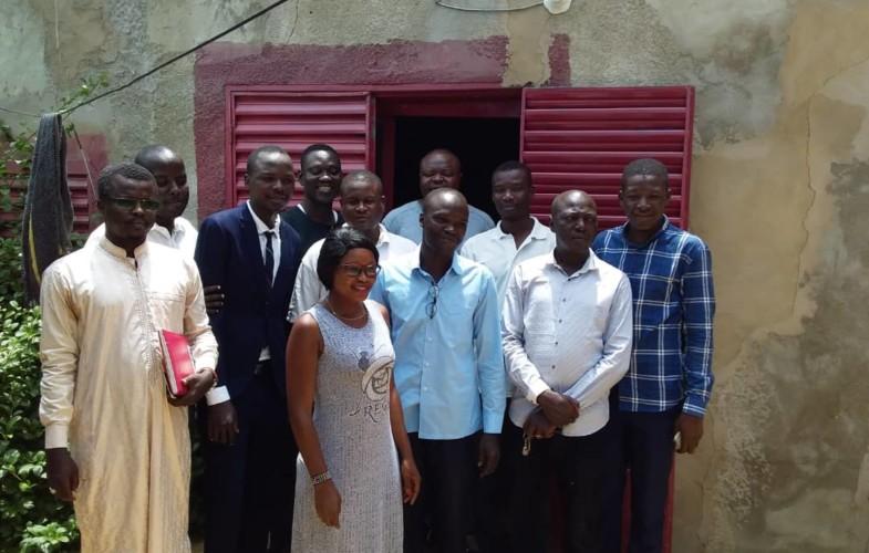 Tchad : le patronat de la presse réconforte le personnel du journal Abba Garde après le cambriolage