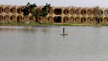 Rentrée des classes : des cours d'établissements encore dans l'eau