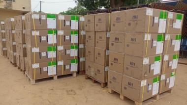 Tchad : l'OMS et le PNUD font un don aux sinistrés des localités d'Ati, Fada et Kalaït