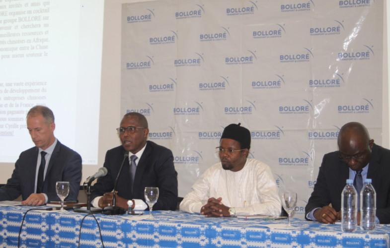 Le groupe Bolloré présente ses offres aux acteurs chinois au Tchad