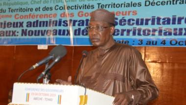 Tchad : le président Déby demande une justice au service de l'intérêt général