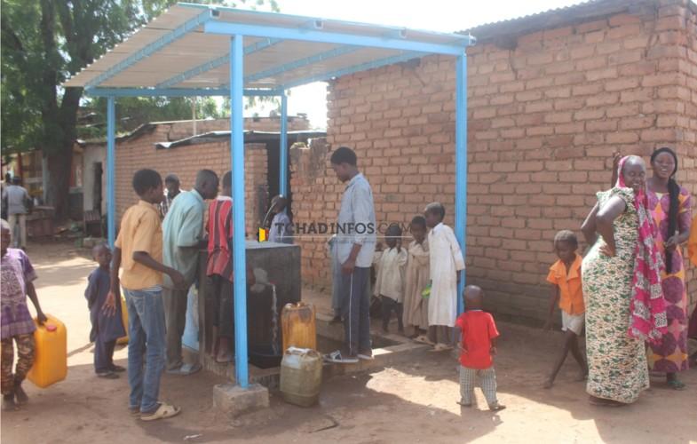 Tchad: vingt deux bornes fontaines rénovées à Laï