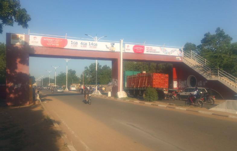 Sécurité routière : à quoi sert la passerelle sur l'avenue Mobutu ?