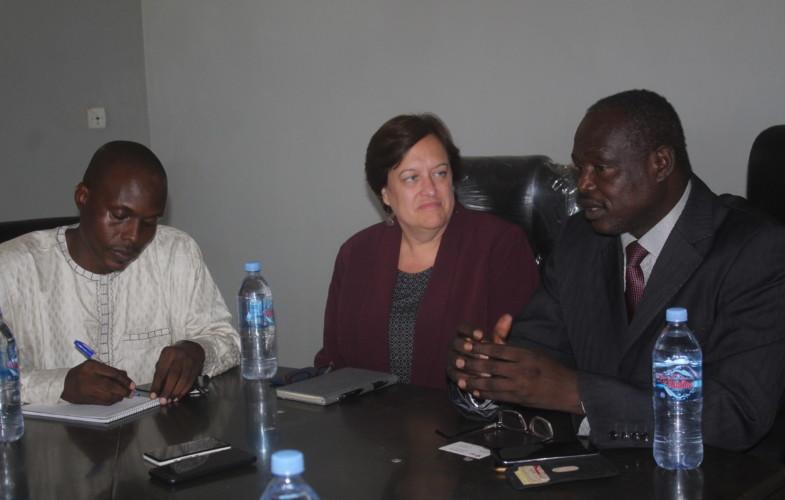 Tchad : visite de la coordinatrice américaine pour l'éducation en Afrique centrale et de l'Ouest à l'université Emi Koussi