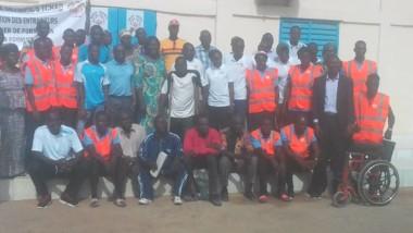 Sport : des entraineurs  du spécial Olympics Tchad sont en formation
