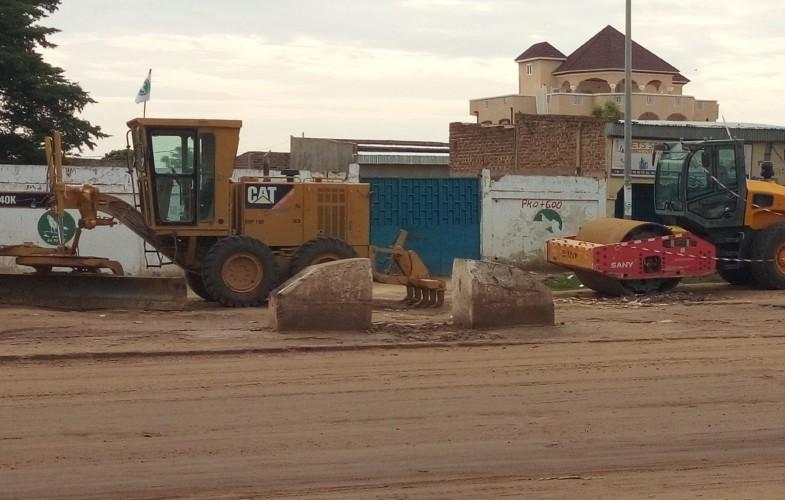 Tchad : les travaux de reconstruction de l'avenue Taiwan s'annoncent