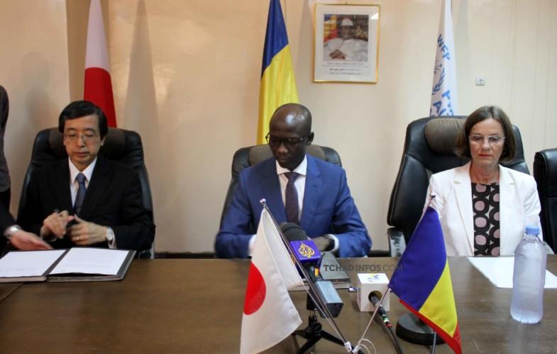Diplomatie : le Japon offre équitablement plus d'un milliard de FCFA à l'État tchadien et au PAM