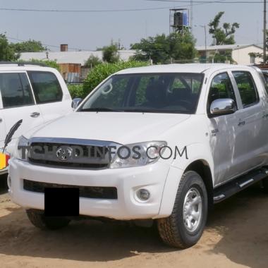 Tchad : sept véhicules volés ont été retrouvés par la Police à N'Djamena