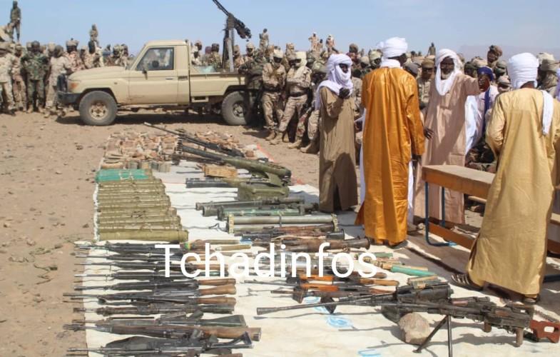 Tchad : le comité d'autodéfense de Miski rend les armes aux autorités