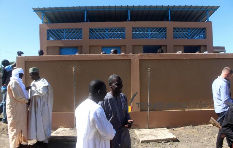 Tchad : la mairie inaugure des toilettes publiques à N'Djamena