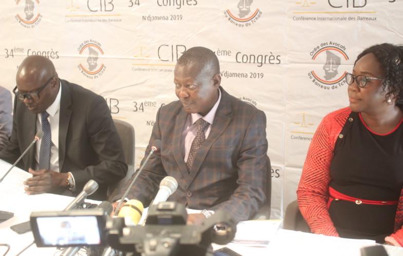 Conférence internationale des barreaux : une première au Tchad