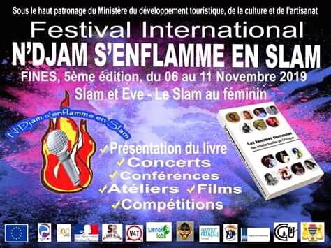 Culture: le festival international N'Djam s'enflamme en slam revient et «elles» sont  à l'honneur