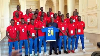 Can 2021 : le président Déby reçoit l'équipe nationale