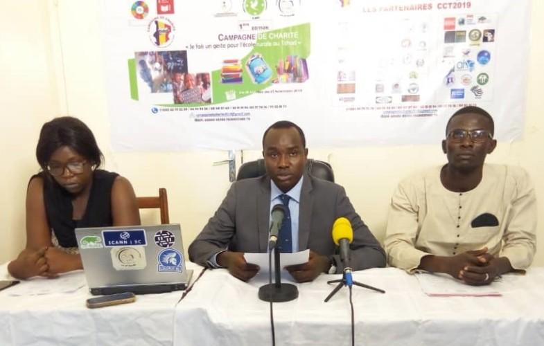 Trois organisations de jeunes initient une campagne de charité en faveur des écoles rurales du Tchad