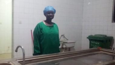 Tchad : Memti Nicole, la courageuse dame qui bosse à la morgue
