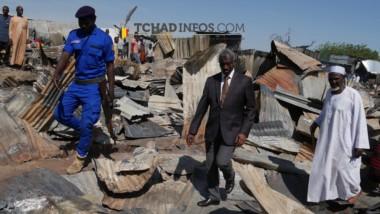 Tchad : plus de 300 millions de francs CFA en liquide partis en fumée au marché de Dembé