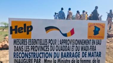 Tchad : le barrage de Matar dans le Ouaddai est inauguré