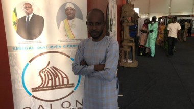 Culture : le coordonnateur de Tchad inter'art représente le pays au SIAMAT