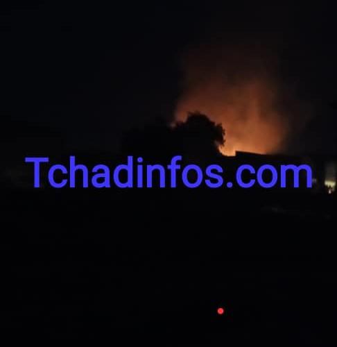 Tchad : le marché de Dembé est en feu