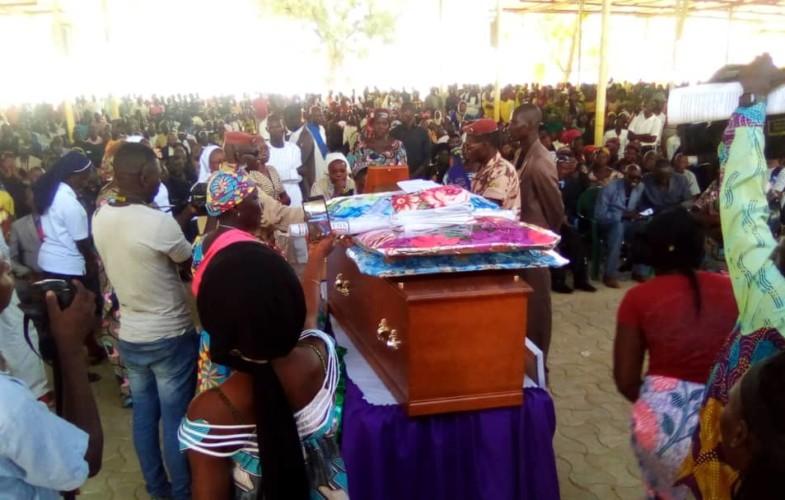 Tchad : les obsèques de Me Nadji Madou se déroulent à la paroisse Sacré-Cœur