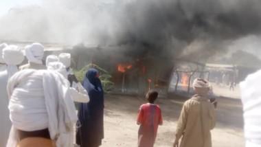 Tchad : un incendie d'origine ménagère a consumé une partie du marché de Moussoro