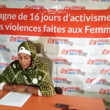 Tchad : la VOF annonce la 2e édition de la campagne des 16 jours d'activisme