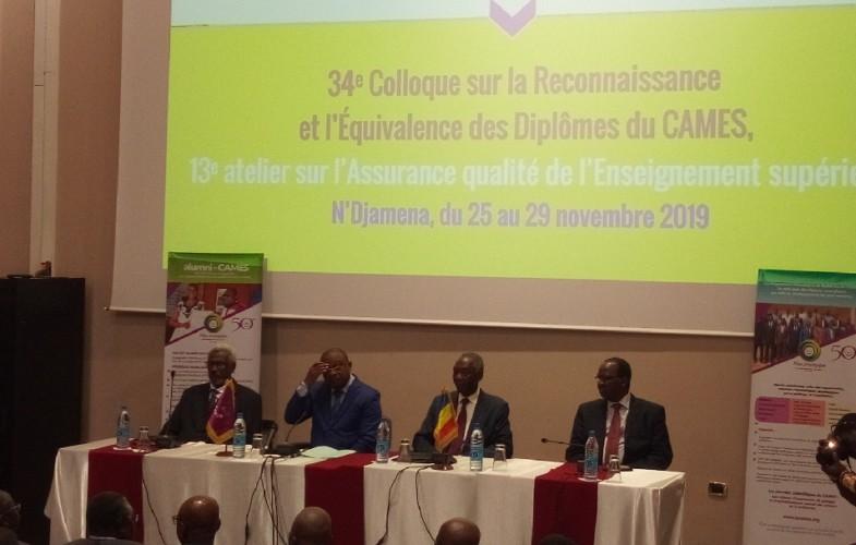 Tchad : N'Djamena accueille une double cérémonie du CAMES