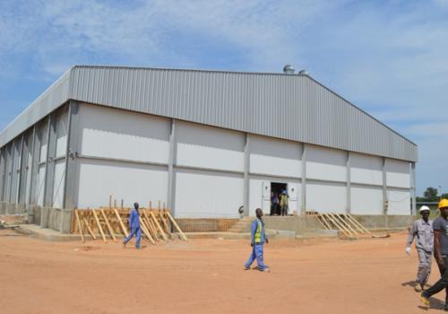 Tchad : l'abattoir moderne de Moundou est en cours de finition