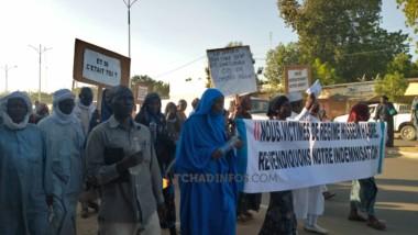 Tchad : les victimes de Hissein Habré violemment dispersées par la Police