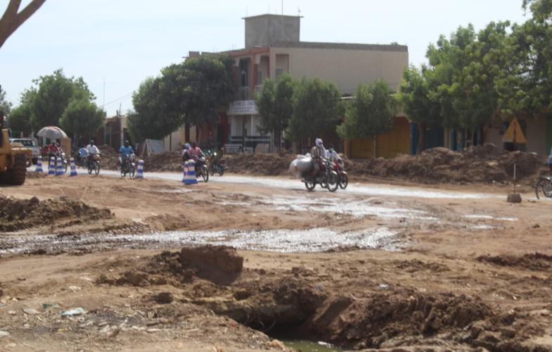 [REPORTAGE] Tchad : travaux sur l'avenue Taïwan  : pas suffisant pour les usagers à N'Djamena