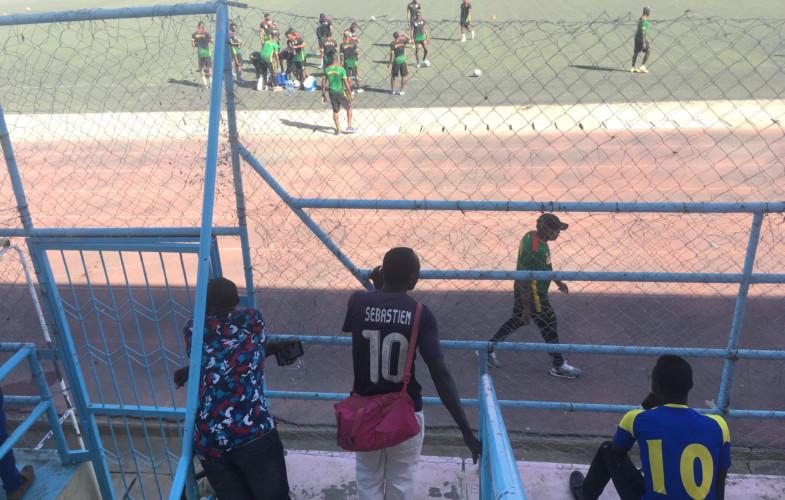 Tchad – Mali : entraînement d'avant-match des Aigles, huis-clos « non respecté »
