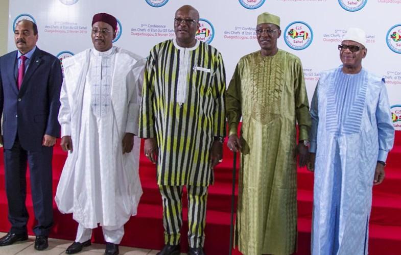 International : un sommet extraordinaire des chefs d'État du G5 sahel à Niamey