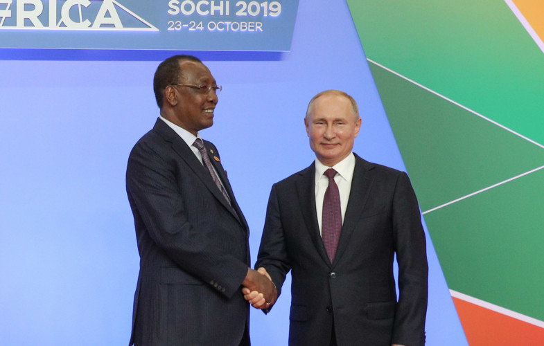 Rapprochement Tchad-Russie : le président Déby attendu à Moscou courant 2020