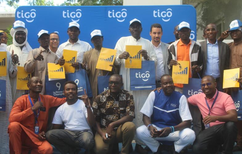 Promo cadeaux 2019 : Tigo Tchad livre 10 autres motos aux heureux gagnants