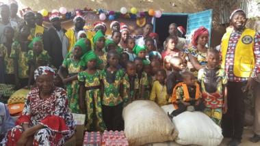 Lions club du Tchad fait un don à un centre d'accueil des orphelins